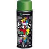 SuperColor lakier uniwersalny 400ml czarny połysk RAL9005