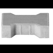 Kostka Behaton 8cm z fazą szara