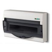Rozdzielnica Green Box 1/12+2 moduły PE+N IP40 biała