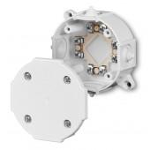 Puszka hermetyczna P5 wkład 4x2,5mm2 IP41 biała