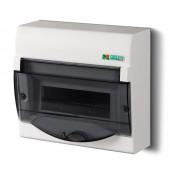 Rozdzielnica Green Box 1/8+2 moduły PE+N IP40 biała