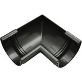 Łuk wewnętrzny rynny 125/90°  grafit Continental