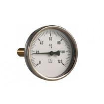 """Termometr bimetaliczny tarczowy 63/120st c 1/2"""""""