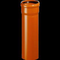 Rura z kielichem KG SN8 ML 110x3,2mm/0,5m PVC