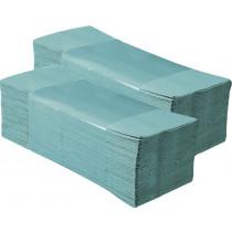 Ręczniki papierowe pojedyncze 200szt. zielony