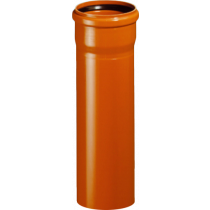 Rura z kielichem KG SN4 ML 160x4,0mm/0,5m PVC