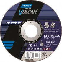 Tarcza 41-125x1,0x22,23 NV do metalu