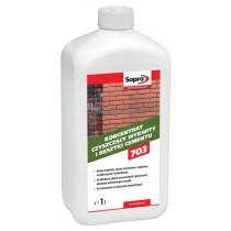Środek czyszczenia z resztek cementu ZEA703 1l