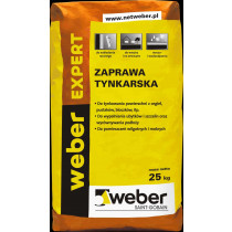 ZAPRAWA TYNKARSKA EXPERT 25kg WEB