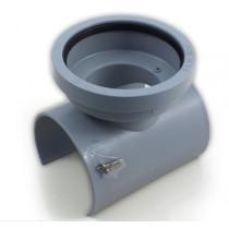 Siodło mechaniczne kanalizacyjne 110/110mm