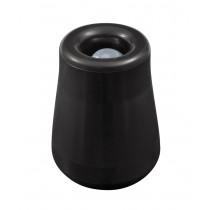 Odbojnik drzwiowy gumowy duży 53mm czarny