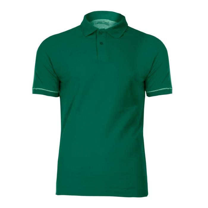 Koszulka polo, 220g/m2, zielona XL