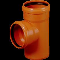 Trójnik KG 110x110mm/87° PVC