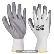 Rękawice wzmocnione Nitrylem XL 445